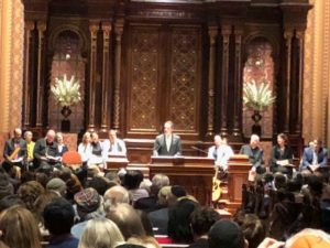Sabbath Shooting In Pittsburgh Remembered in Interfaith