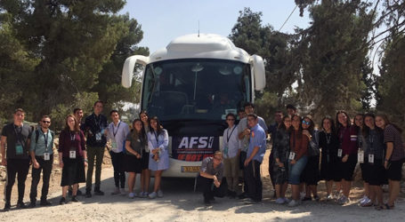 "AFSI's New Program ""If Not Us"" Takes Students on Tour Focusing on the Life of Ari Fuld, ztk'l"