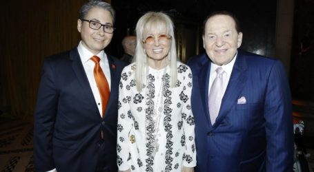 """Adelson,  Saban,  Redstone, Falic,  Siegel, Bronfman, Honored at """"Gift of Life"""" Marrow Registry Annual Gala in NYC"""