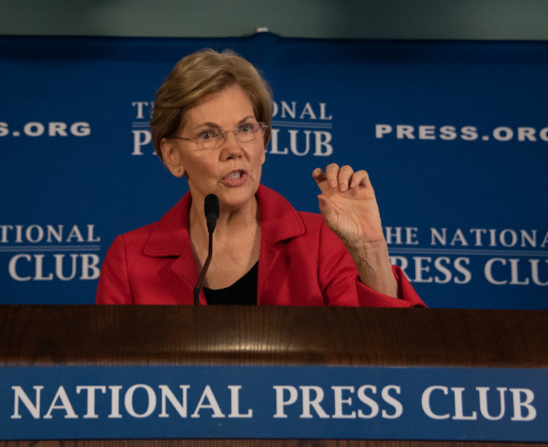 FIRST ONE IN: Elizabeth Warren Announces Her Candidacy For 2020 Presidential Nomination