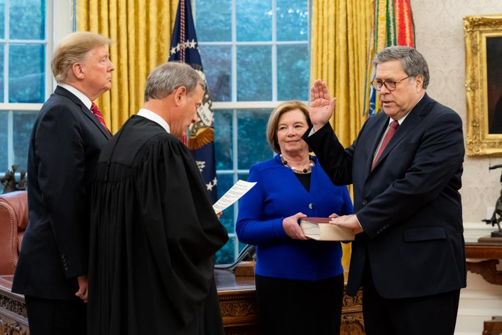Senate Confirms William Barr as New US Attorney General