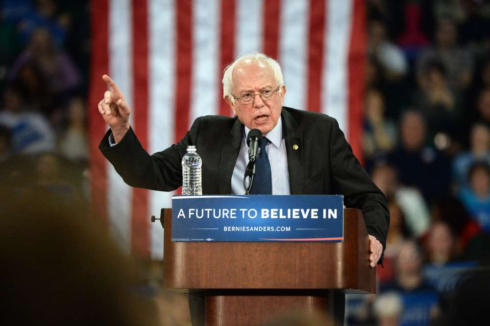 Back in Brooklyn, Sanders predicts White House win in 2020