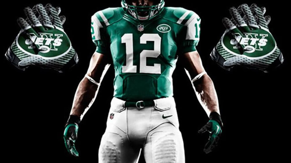 "sports shoes 15c04 dbdc4 NY Jets Unveil New ""Gotham Green"" Uniforms - The Jewish Voice"