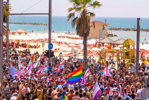 250,000 People in Tel Aviv Attend Largest Pride Parade in Middle East - The Jewish Voice