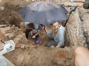 Excavations of the Great Synagogue in Vilna Photo credits Jon Seligman and Loic Salfati