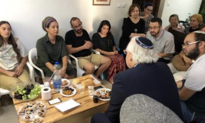 "Ambassador David Friedman Makes Shiva Call to Family of Slain Israeli Youth Dvir Sorek HY""D"