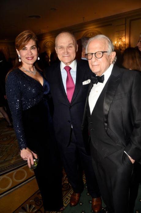 Lauren Vernon, Ray Kelly and Larry Leeds