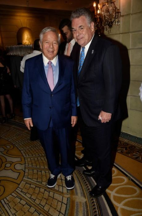 Robert Kraft and Peter King