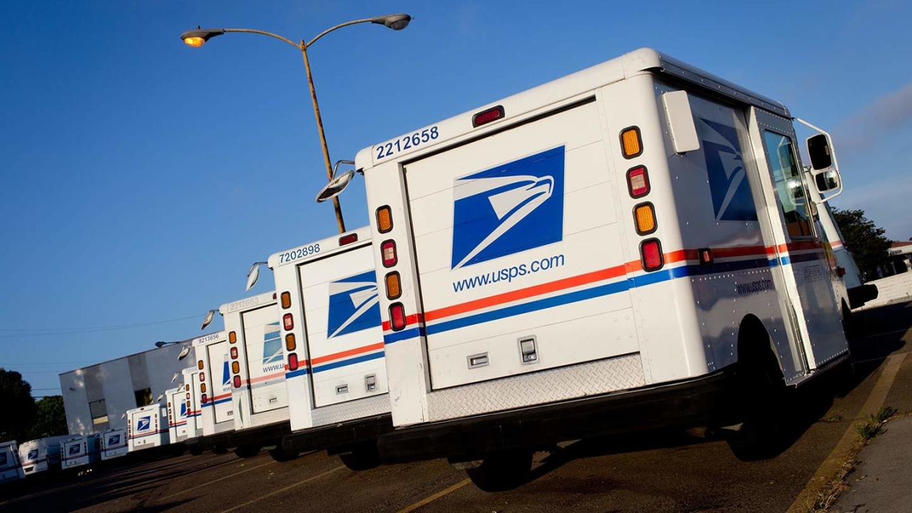 Cash-strapped Postal Service 'in peril' without intervention from Congress: watchdog