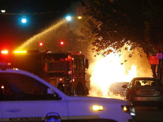 Rioters Set Fire to Home with Child Inside, Then Block Firefighters