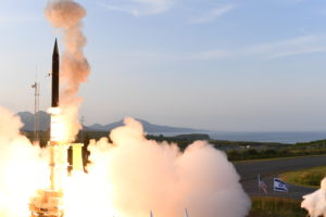 Arrow Weapon System Successfully Engages Ballistic Missile Target Photo Credit U.S. Missile Defense Agency