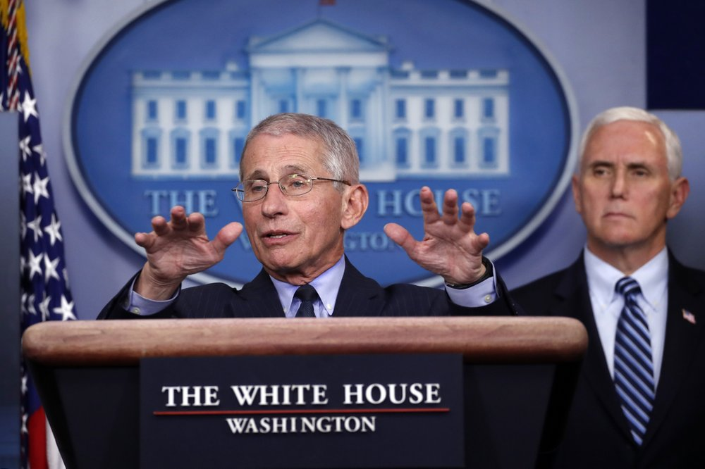 Dr. Fauci Warns Midwest Of Potential Labor Day Surge In Coronavirus Cases