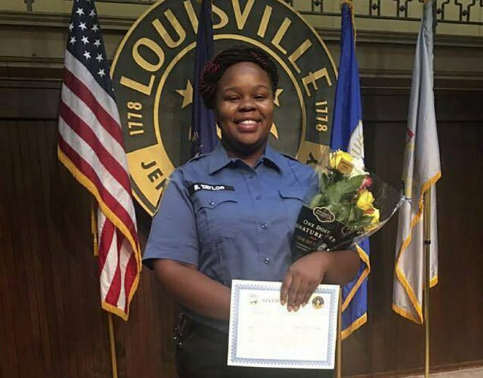 This undated photo provided by Taylor family attorney Sam Aguiar shows Breonna Taylor in Louisville, Ky. (Courtesy of Taylor Family attorney Sam Aguiar via AP, File