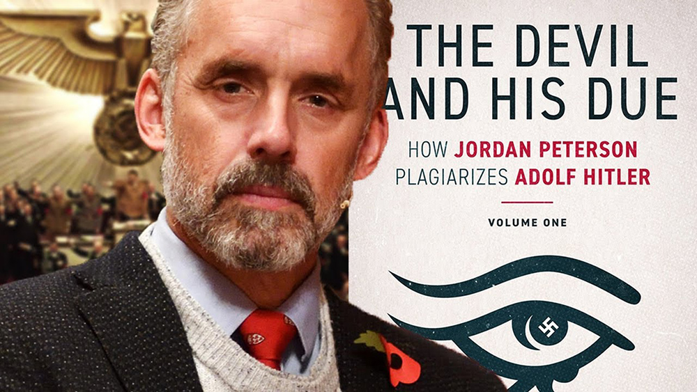 chasquido suficiente pirámide  New Book Claims Jordan Peterson Plagiarizes Adolf Hitler - The Jewish Voice