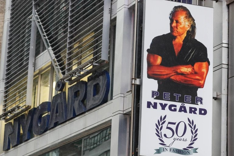 Canadian fashion designer Peter Nygard arrested on sex trafficking charges