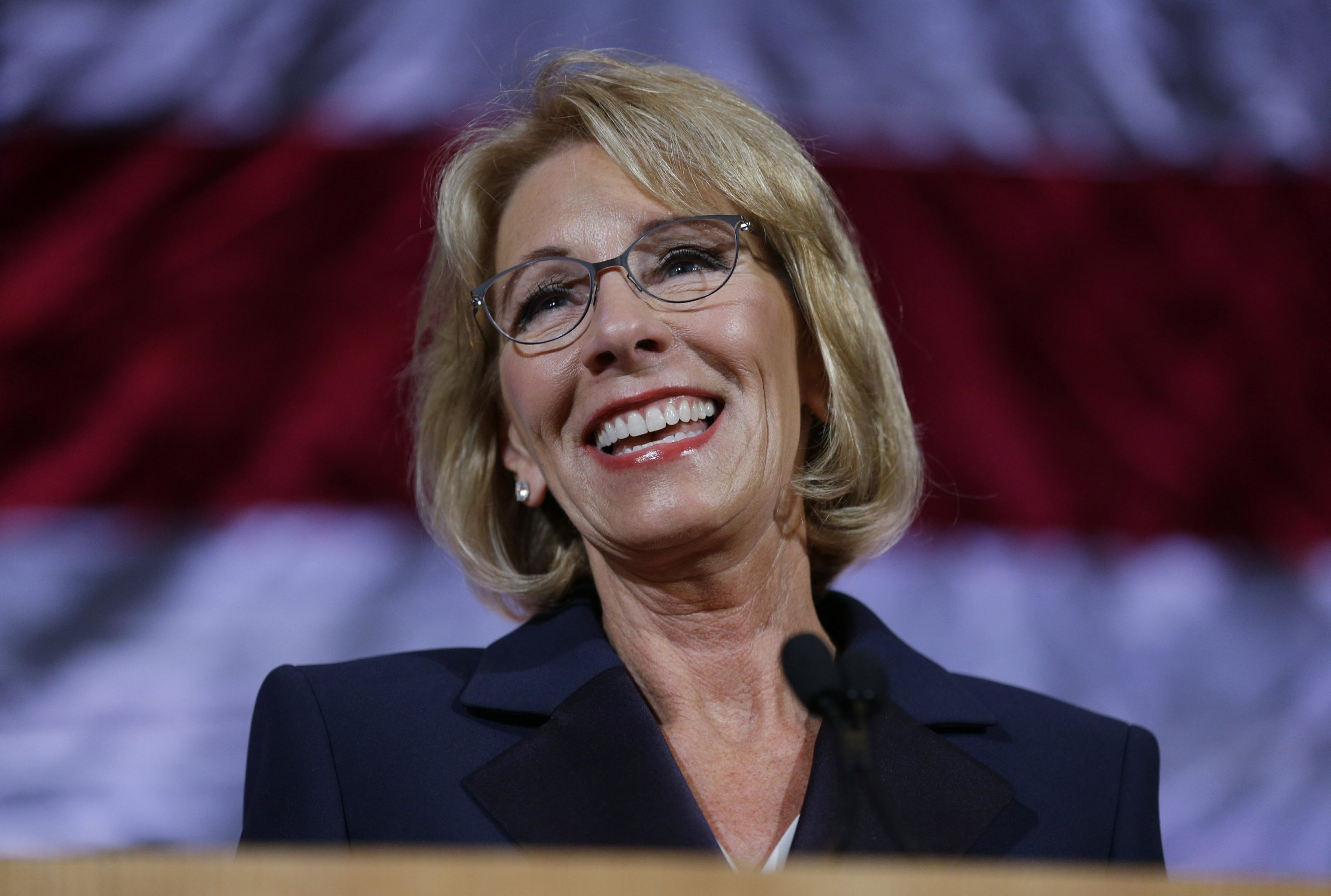Trump's Education Secretary Betsy DeVos submits resignation