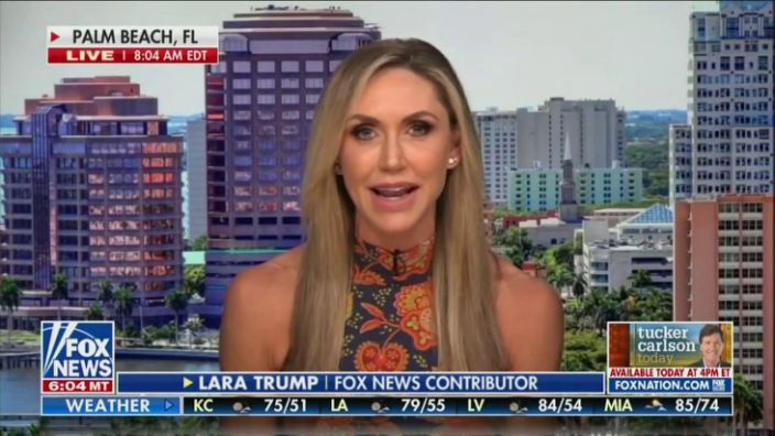 Facebook: Voice of President Trump Banned !! Lara Trump Interview Censored